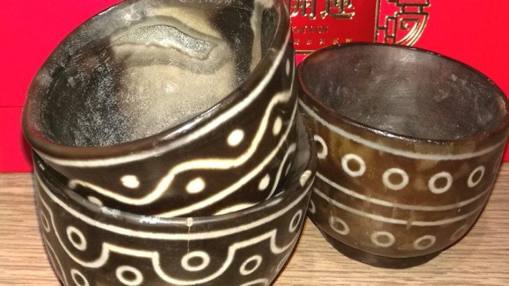 Каменные дзи-чаши